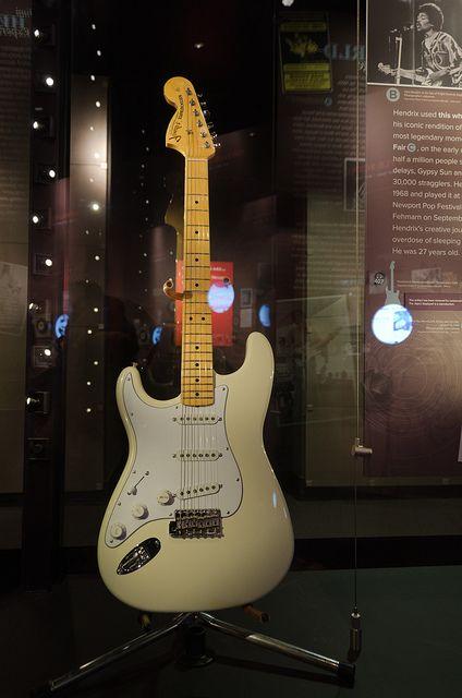 Jimi Hendrix S Woodstock Guitar At Emp Jimi Hendrix Guitar Guitar Jimi Hendrix