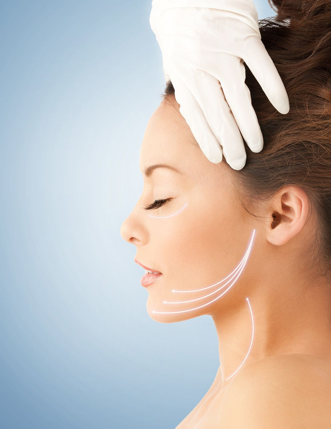 Neck lift no cosmetic surgery Beauty time at Orchid Spa