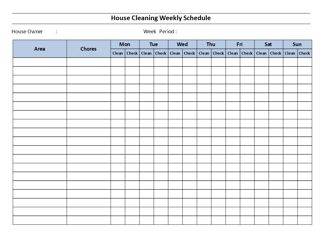 House Cleaning Schedule Template Are You Satisfied With The Cleanness Of Your House Or Room For Shift Schedule Cleaning Schedule Templates Schedule Template [ 816 x 1056 Pixel ]