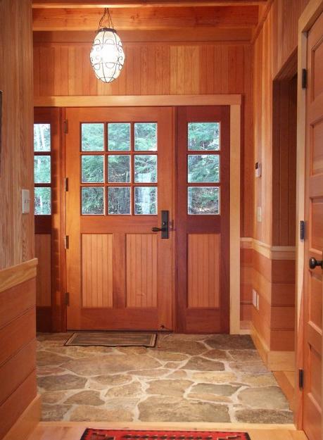 Foyer Tile Grout : Random flagstone floors natural stone possibility