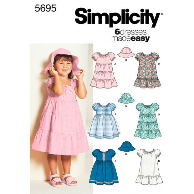 Simplicity Pattern-5695 2 to 4