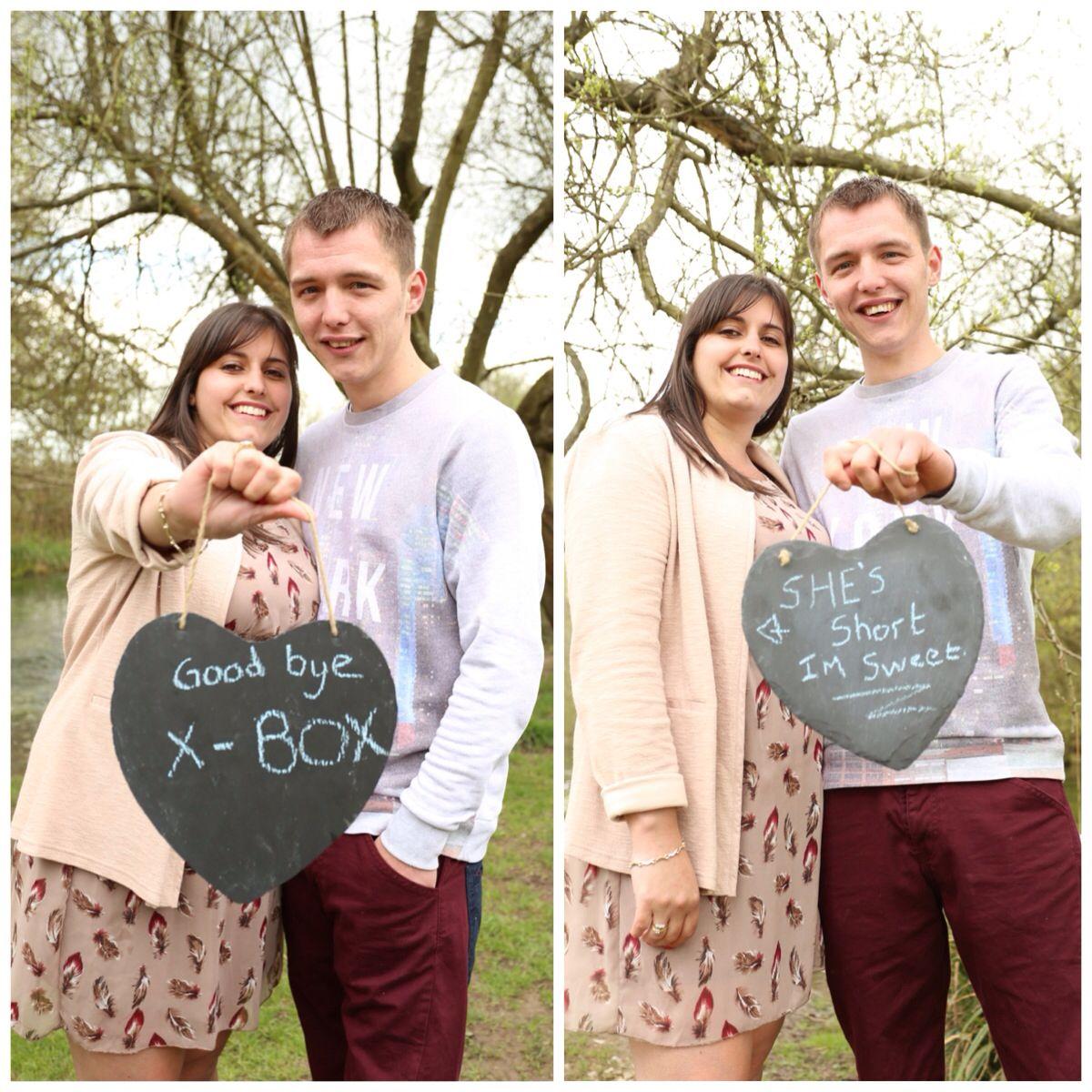 Goodbye xbox, she's short I'm sweet Wedding photo booth
