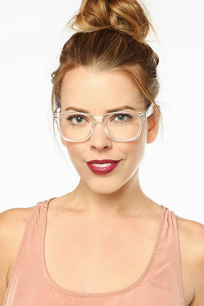 8b8bdca67ea50  Jude  Large Unisex Transparent Wayfarer Glasses - Clear.