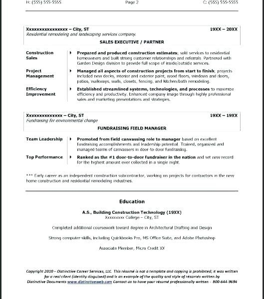 73 Cool Photos Of Construction Owner Resume Examples