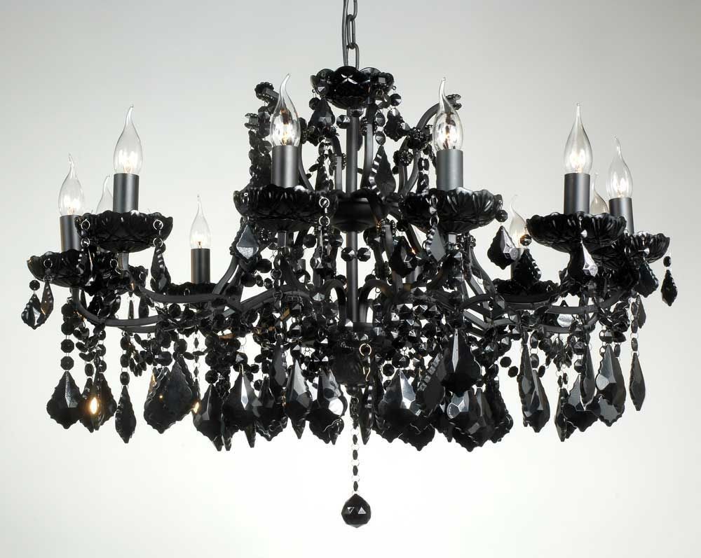 Exquisite branch shallow chandelier black crystal chandelier design exquisite branch shallow chandelier black crystal chandelier design mozeypictures Image collections