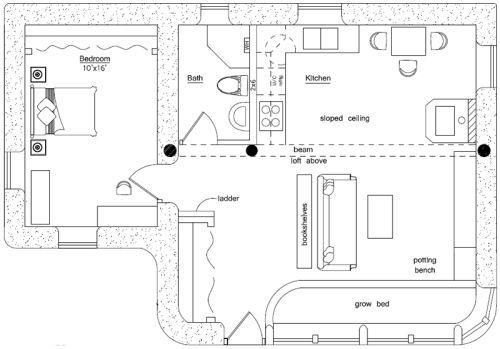 Straw Bale House Plans Straw Bale House House Plans House Floor Plans