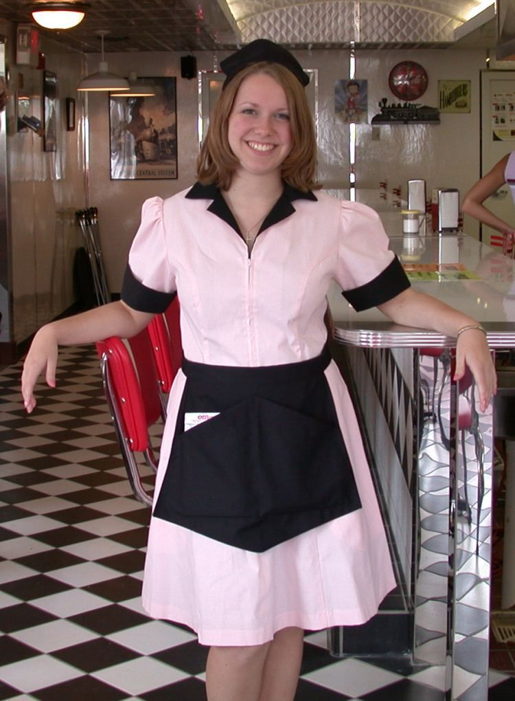 finest selection 7e525 f661a Uniform Special – Waitresses | Growing up in the 1950's ...