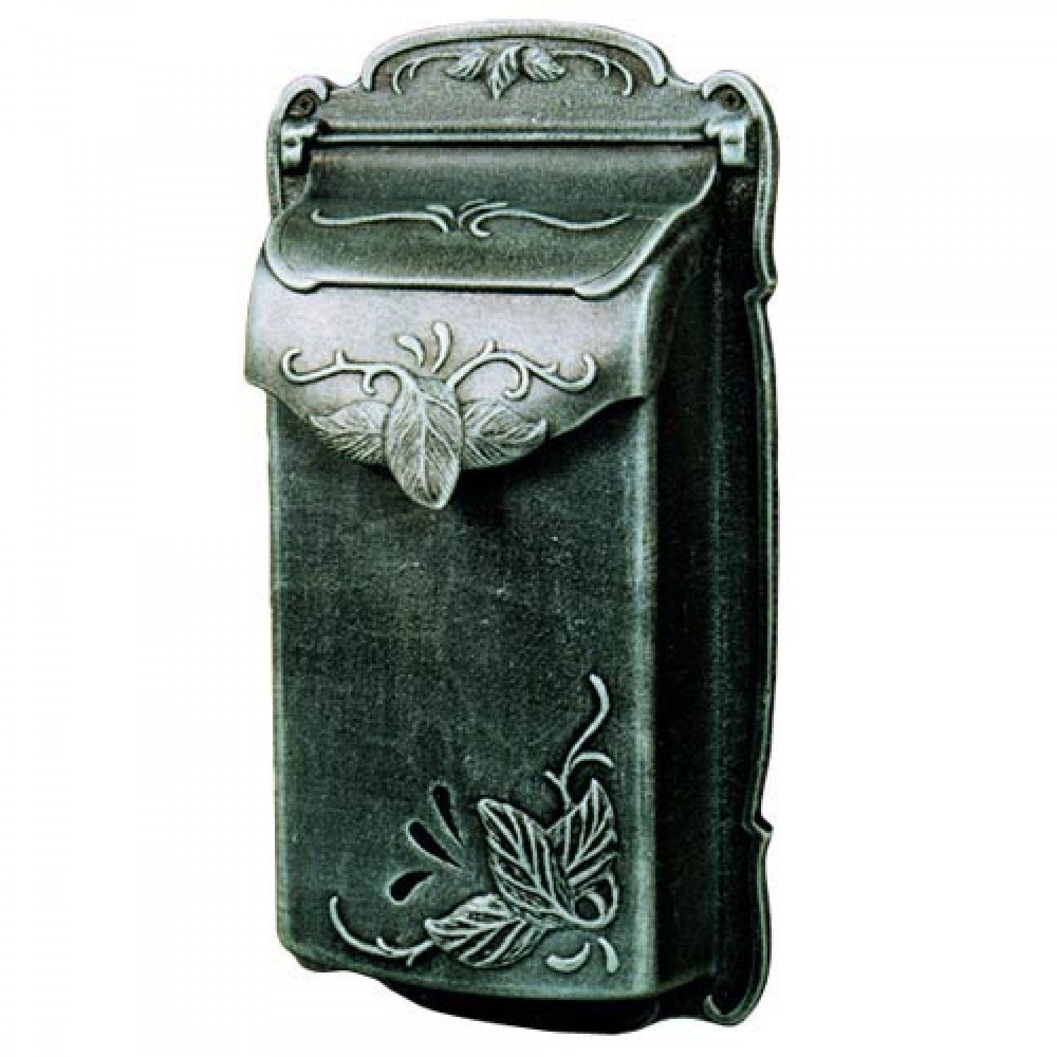 residential mailboxes wall mount. $138.95 Floral Vertical Wall-Mount Mailbox Residential Mailboxes Wall Mount H