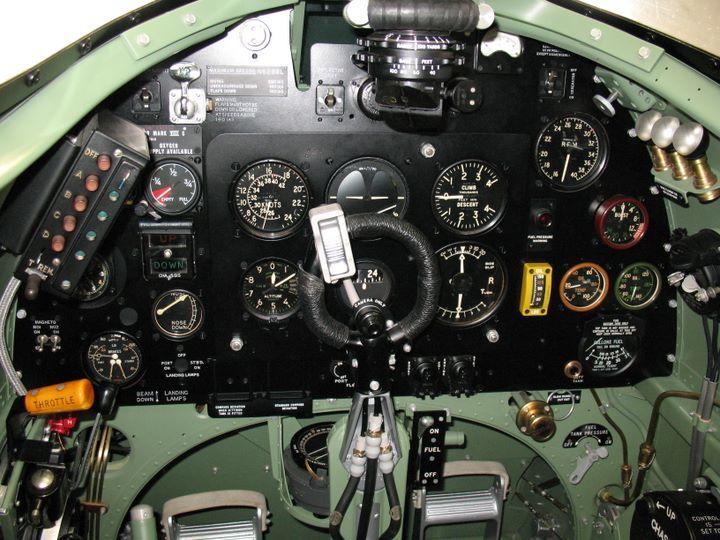 Anatomy of the Spitfire Cockpit
