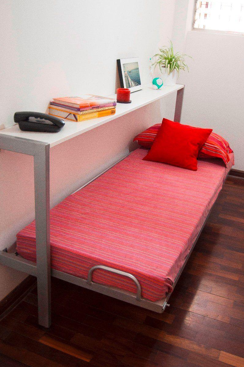 Camas plegables o abatibles bunker bed proyectos que intentar pinterest - Camas muebles plegables ...