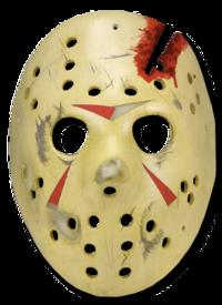 Jason Voorhees Resin Hockey Mask Halloween Decorations Pumpkin Carving Jason Voorhees
