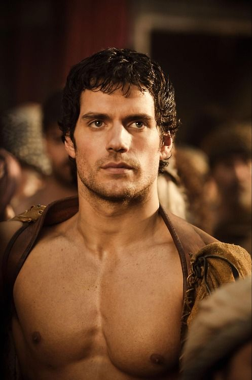 "Henry Cavill in ""Immortals"" as Lucas Conrad... a few centuries ago."