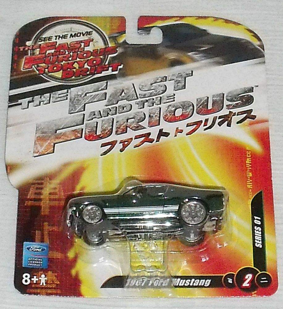 Tokyo Drift Diecast Car 1967 Mustang Joyride Studios Fast