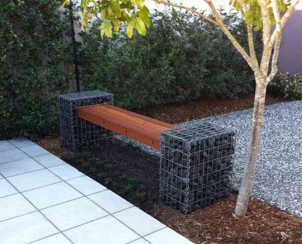 Gabion Seat Made In Australia Created With Intention