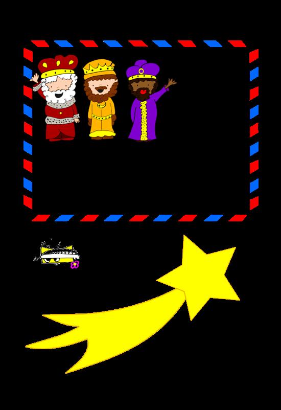 Imagenes Sobre Reyes Magos.Carta De Los Reyes Magos Para Imprimir Y Colorear
