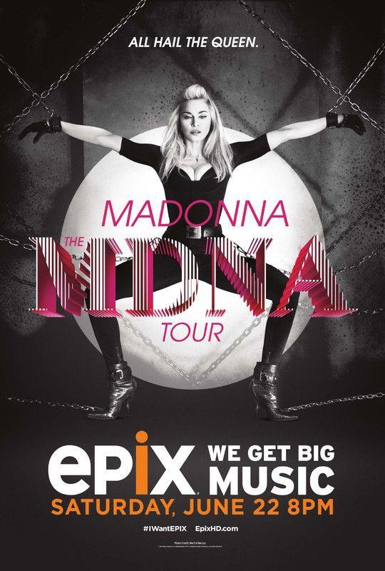 Madonna - MDNA Tour - Mini Print