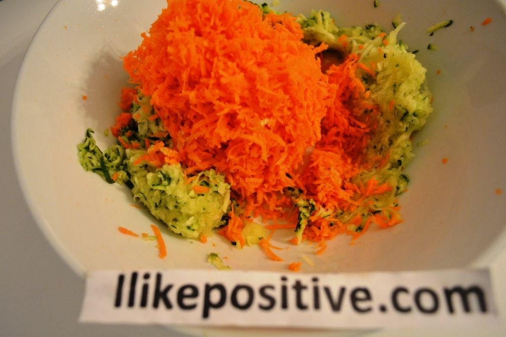 Shred Carrot With A Small Grater Fritters Cooking Food