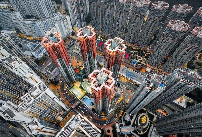 Overwhelming Urban Landscape Photography From A Bird S Eye Perspective Mit Bildern