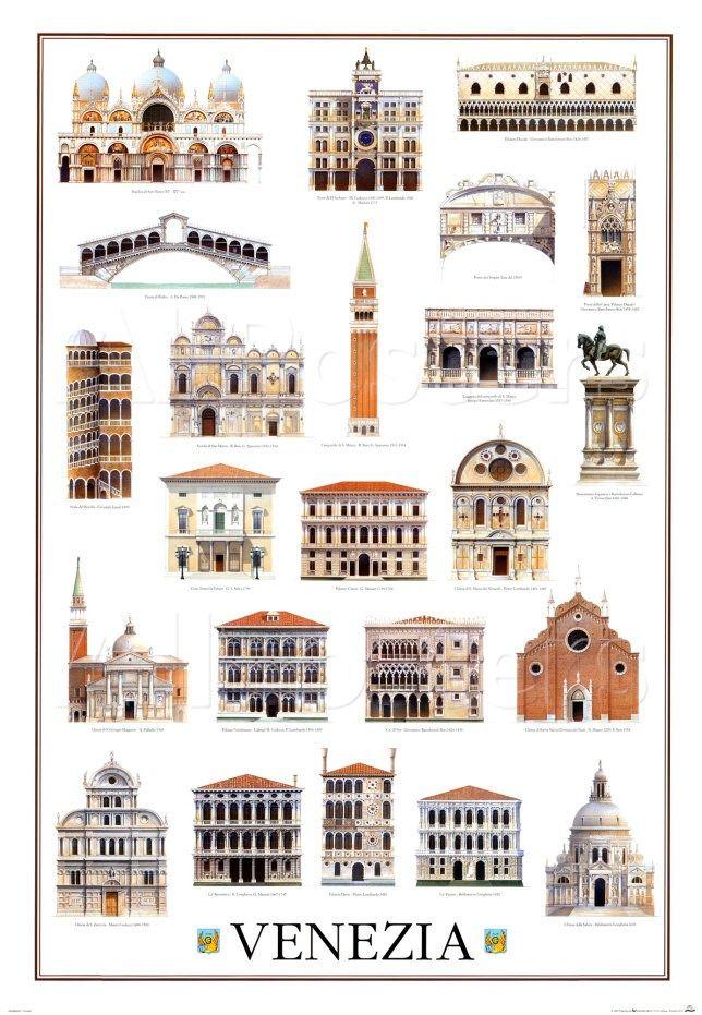 'Architecture, Venice' Prints - | AllPosters.com