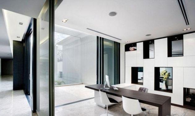 Bureau à la maison: 57 idées d\'organiser le travail à domicile