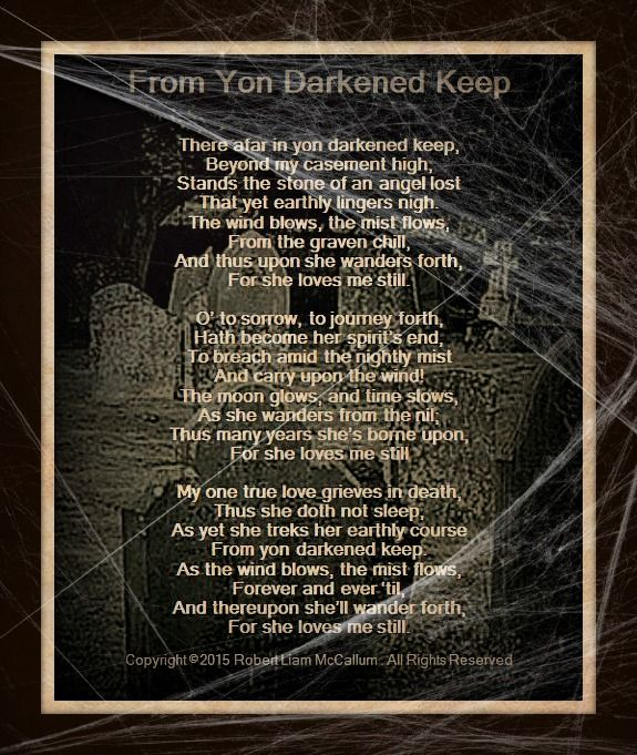 """Sad Tumblr Quotes About Love: Graveyard Poetry / """"From Yon Darkened Keep"""",The Metaphoric"""