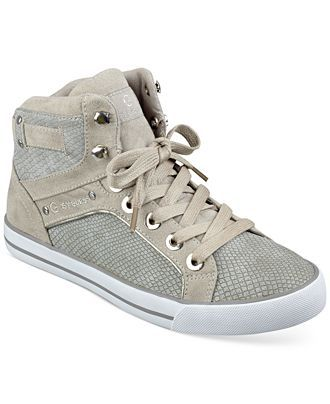 7a520ad935 G by GUESS Women s Opall High Top Sneakers - Sneakers - Shoes - Macy s
