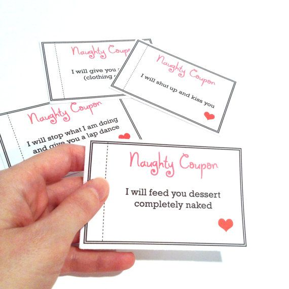Printable erotic cards