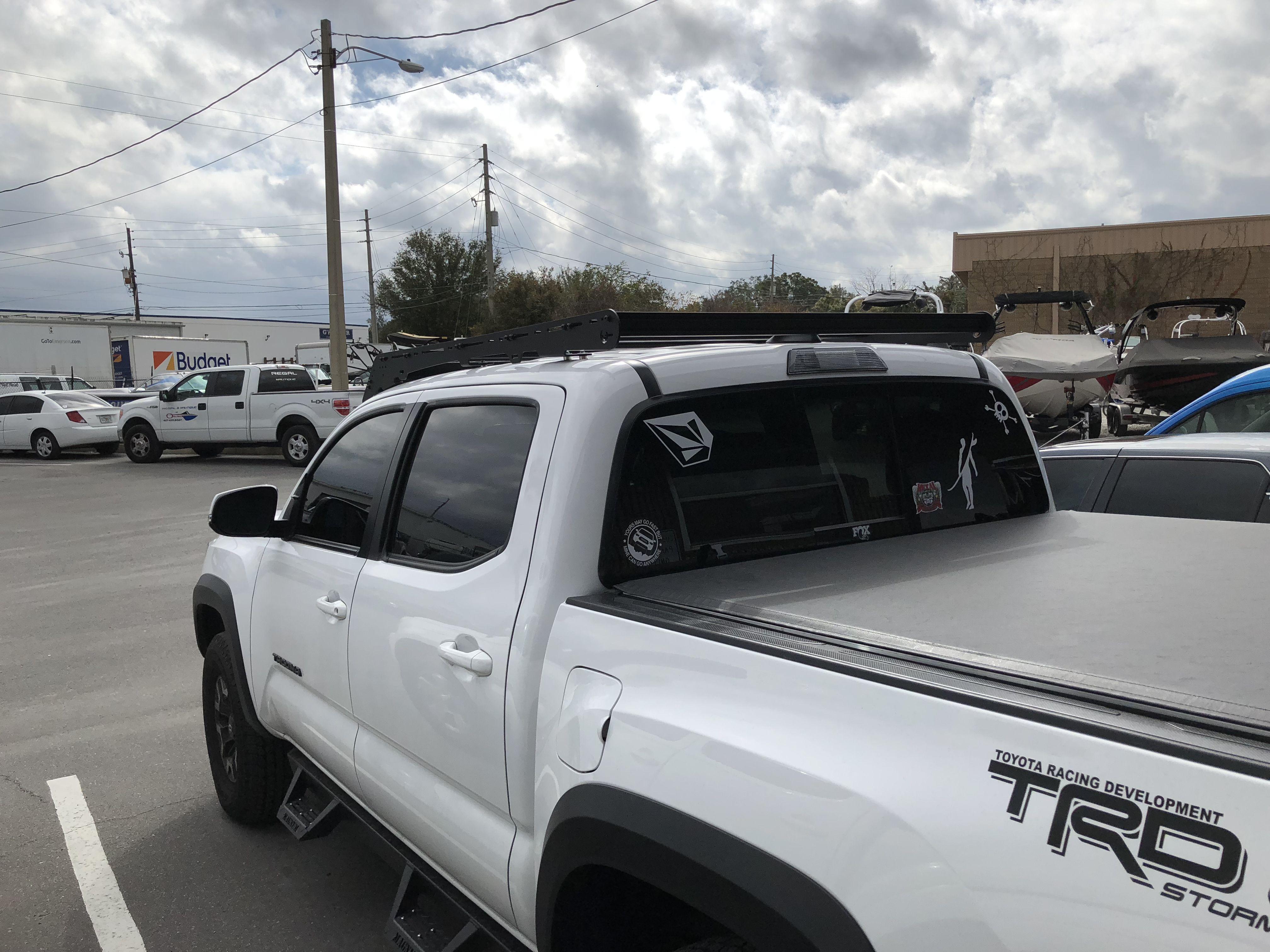 Prinsu roof rack tacoma 3rd gen | 2017 Toyota Tacoma TRD Off Road