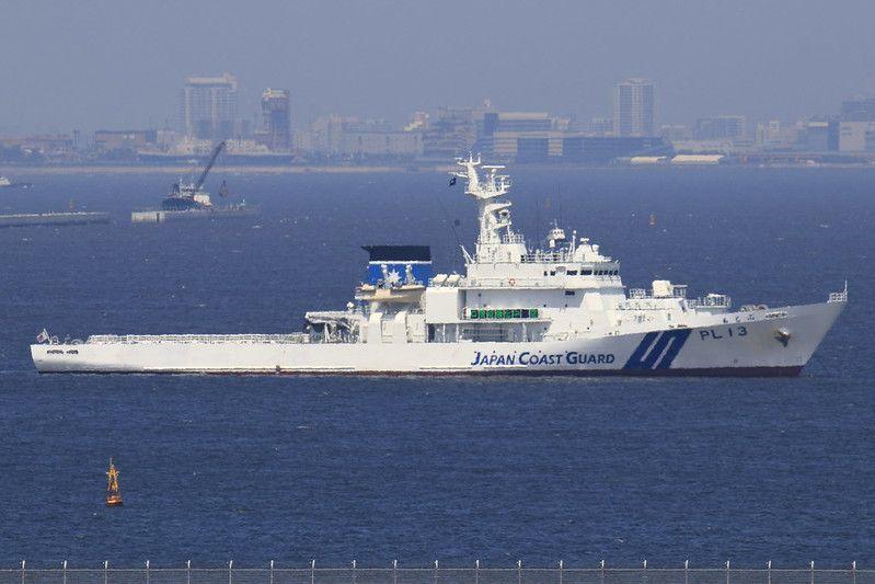 [2048x1366] PLAN Type 052D-class Taiyuan (DDG-131) and JCG ... |Hida Jcg Class Patrol Vessel