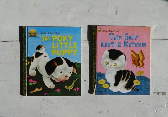 Little Golden Book The Poky Little Puppy and The by HomeEcClass