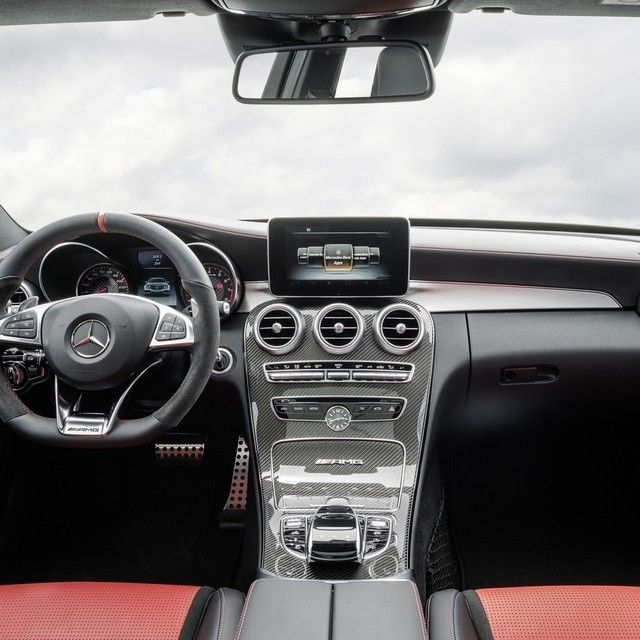 Every Detail In The Interior Of The Mercedes Amg C63 From Optional