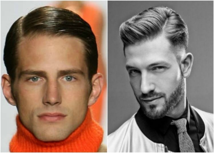 Männer frisuren seitenscheitel