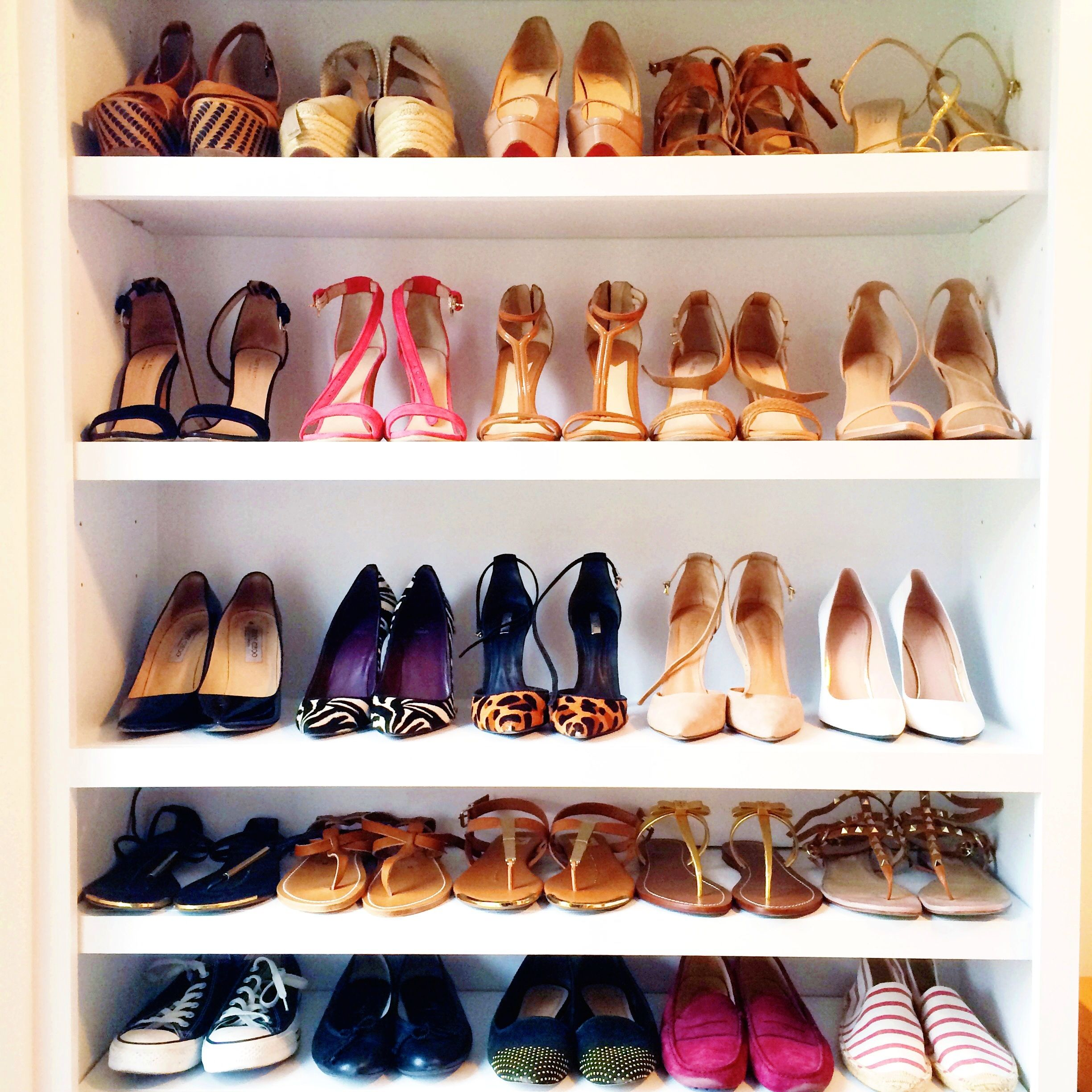 Entryway Closet · Shoe Display. Organizing ...