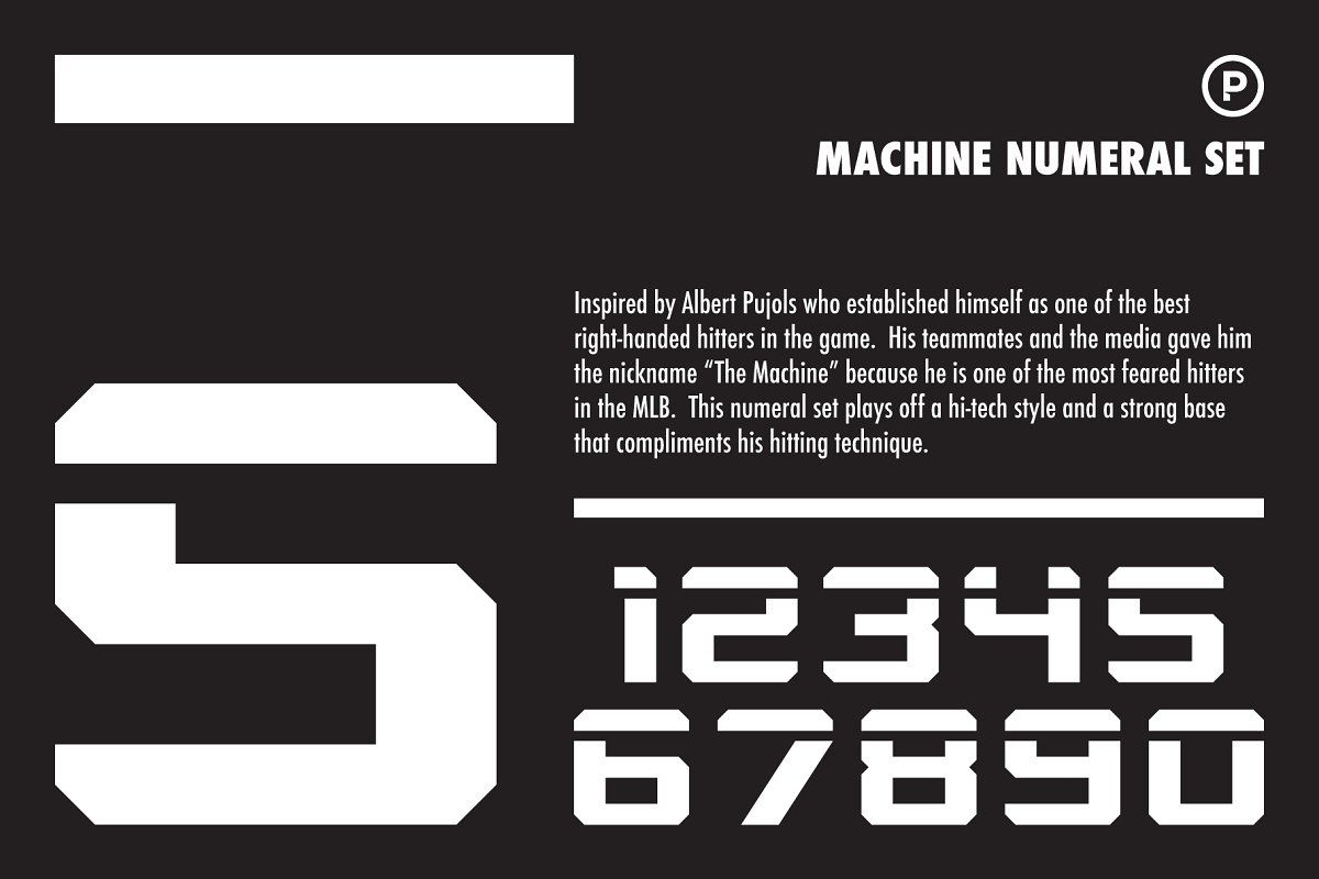 Machine Numeral Set In 2020 Numeral Wedding Invitation Fonts Business Icons Design