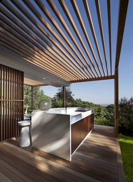 zen kitchen island by exteta outdoor living design outdoor furnishings outdoor rooms on outdoor kitchen island id=29240