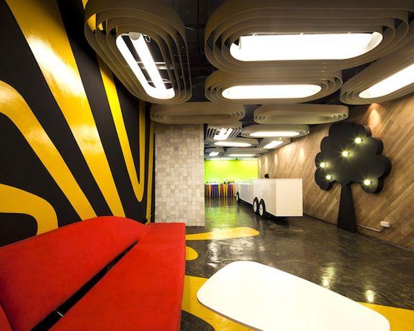 Creative Office Space | Interior Design. Saatchi \u0026 Headquarters In Bangkok, Thailand. Design F
