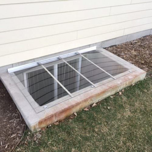 Square Window Well Covers Made To Fit Any Rectangular Shape Window Well Cover Window Well Square Windows