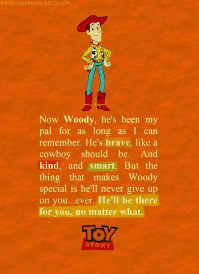 Toy Story Quotes thedisneyprincess | Toy Story Quotes | Pinterest | Disney movies  Toy Story Quotes