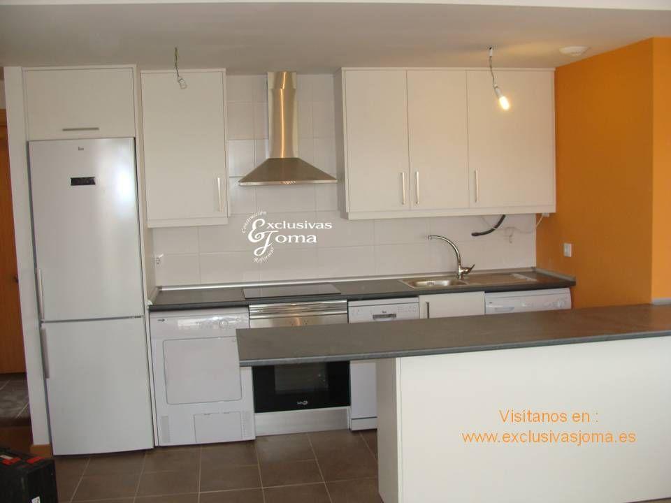Muebles de cocina a medida para las viviendas nuevas de - Encimera de pizarra ...