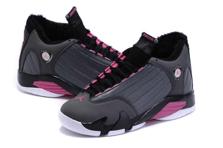 Womens Air Jordan 13 Plus Velvet Black Pink | Womens Air Jordan 13 |  Pinterest | Air jordan, Shoe game and Black