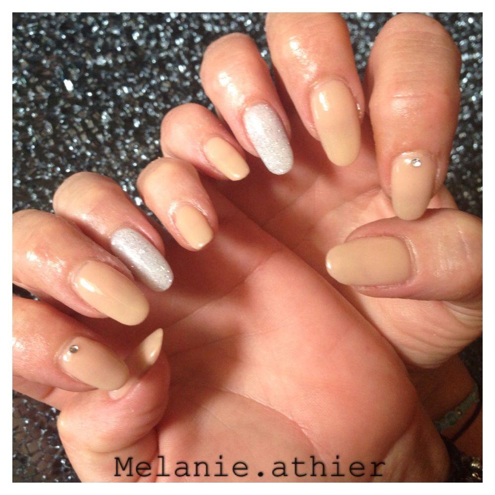 Nexgen Nails Nude Glitter   nailed it   Pinterest
