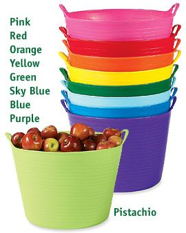 Lovely Gardening Tubs Also Make Great Cleaning Supplies Carriers! I Have A Green  One Under My