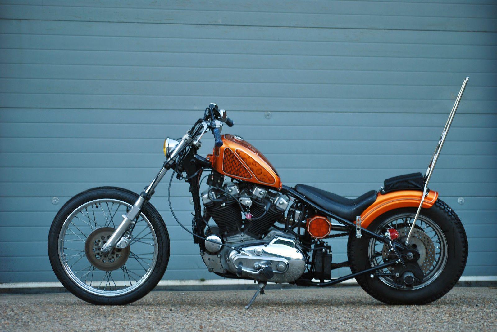 Harley Davidson Ironhead Sportster bobber chopper | Bobber ...
