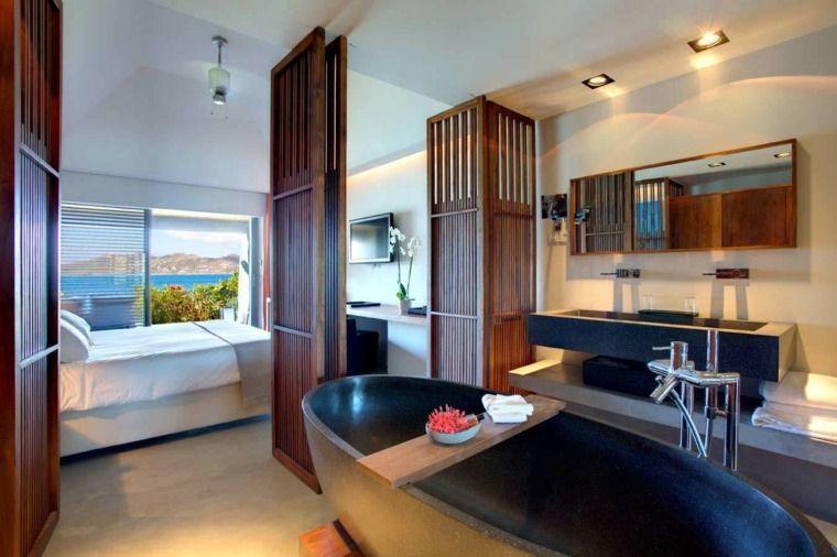 salle de bain dans chambre une tendance lgante et pratique - Salle De Bain Ouverte