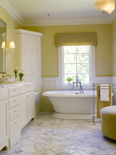 Beyond White 11 Alternative Hues To Color Your Bath Yellow