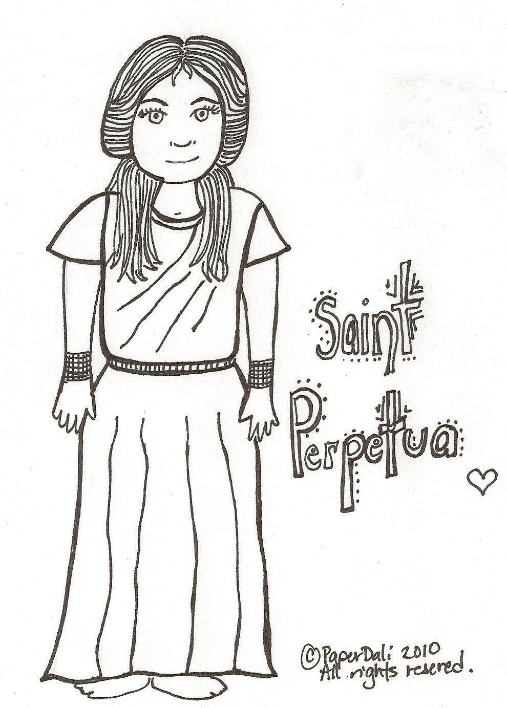 Paper Dali Saints Coloring Pages Catholic Coloring Sacagawea