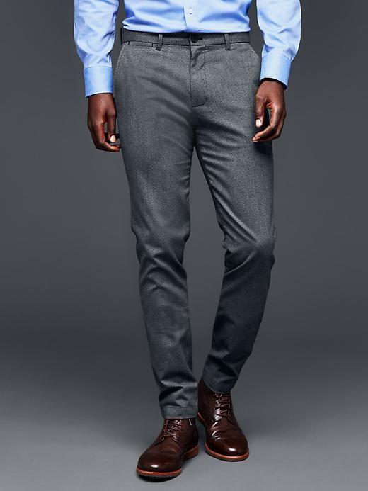 Dobby pant (skinny fit)