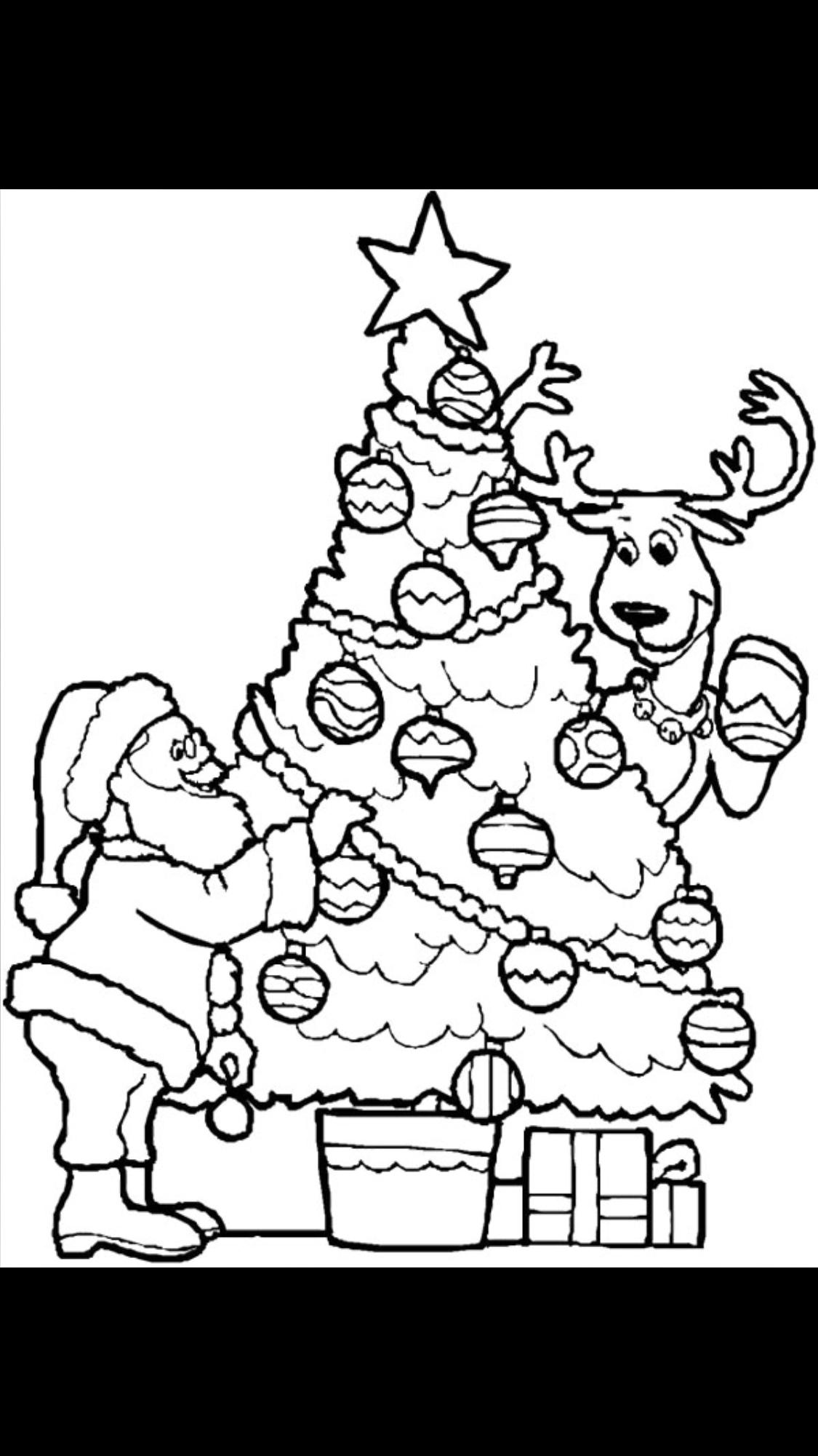 Lo Mejor De Imagenes De Navidad Para Colorear A Color | Colore Ar La ...