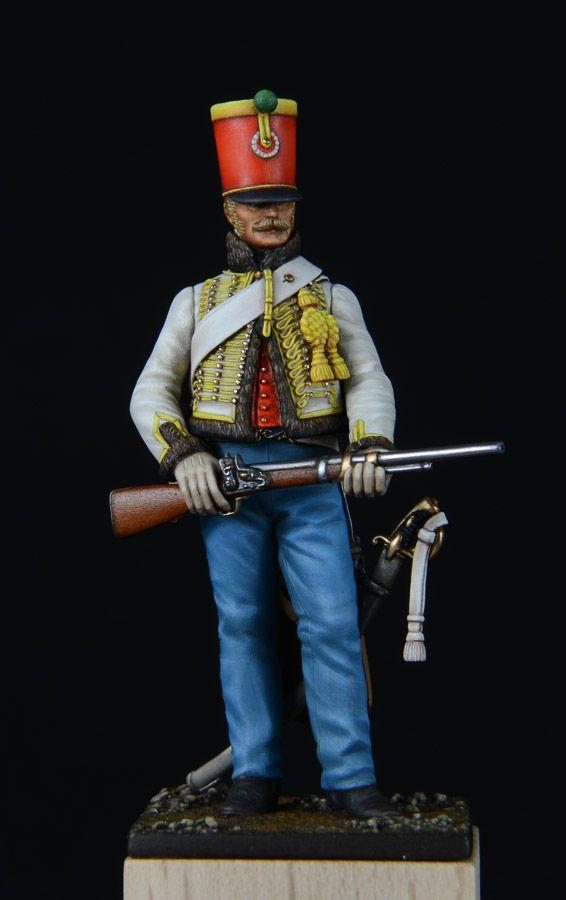Ussaro del 5 rgt. Ussari francese