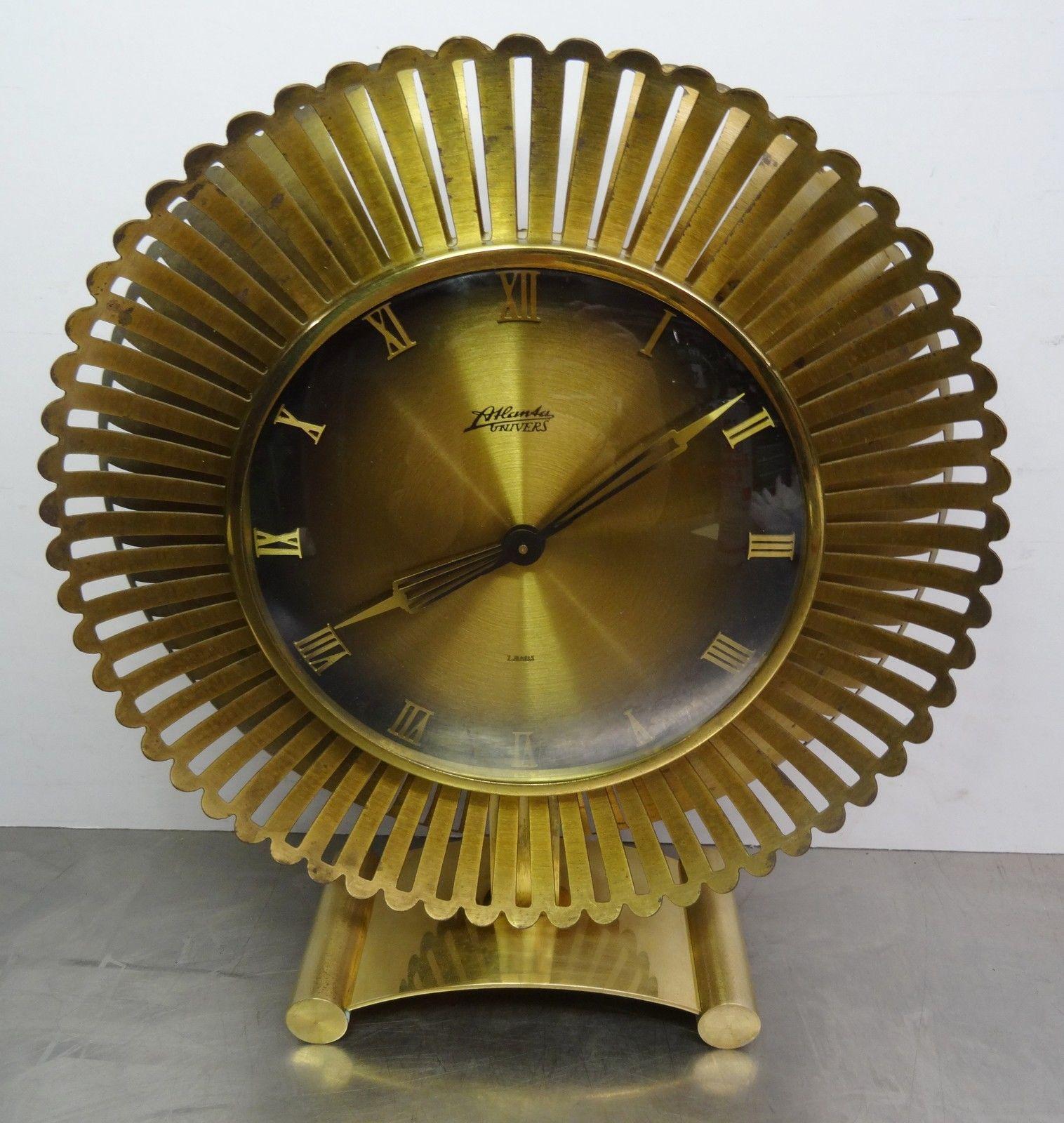 Details zu mid century design designer tischuhr for Design tischuhr